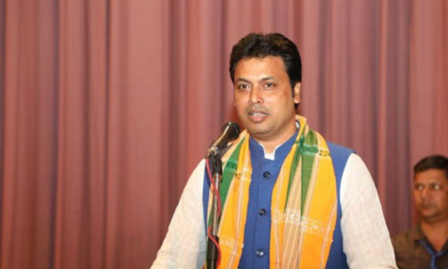 Tripura CM: Biplab Kumar Deb in Hindi - विप्लव कुमार देव