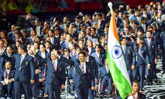 India in Commonwealth Games 2018 राष्ट्रमंडल खेल